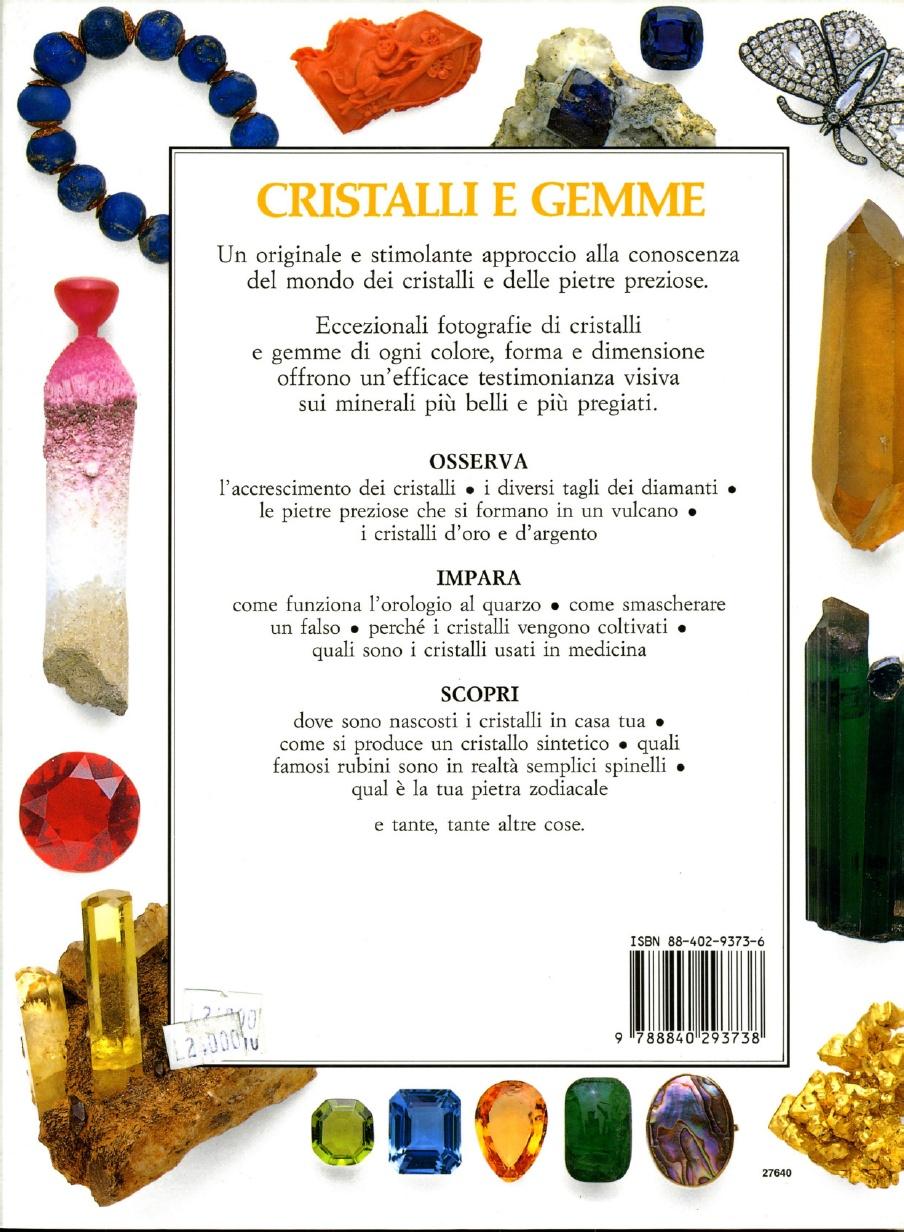 Cose Di Casa Carate cristalli e gemme - de agostini