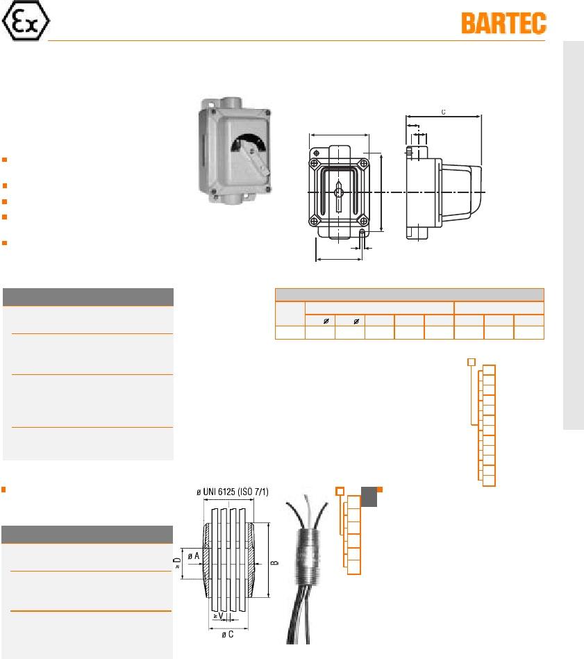 1 x circuito Bartec módulo 07-3321-1100